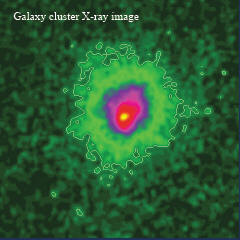 galaxy cluster X-ray image